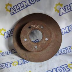 Nissan Almera Tino 2002 год, тормозной диск задний