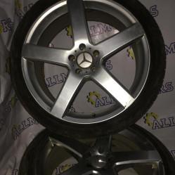 Mercedes-Benz W220, комплект дисков с зимней резиной 245/40 r20