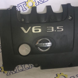 Nissan Murano 2006 года, v-3.5 4WD, декоративная крышка двигателя