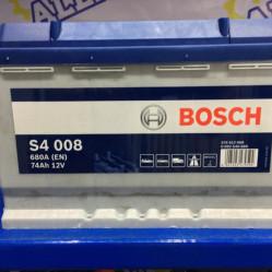 Аккумулятор Bosch S4 008 (74 Ah)