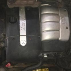 Mercedes-Benz ML 2002 года, v-2.7 CDI, двигатель в сборе с навесным оборудованием