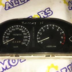 Mitsubishi Galant 1996 год, щиток приборов