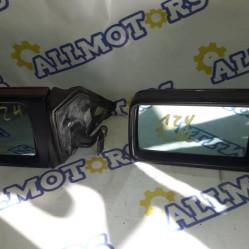 Mercedes-Benz W124, зеркала левые (электрическое и механическое)