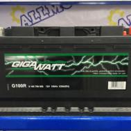 Аккумулятор GigaWatt G100R (100 Ah)