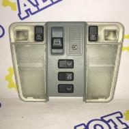 Mercedes-Benz W140, плафон освещения салона с кнопкой управления люком