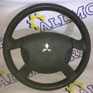 Mitsubishi Space Star 2003 год (рестайлинг), руль с подушкой безопасности