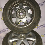 Toyota Corolla Verso, комплект дисков с зимней резиной 195/55 r16