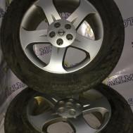 Nissan Murano, комплект дисков с зимней резиной 235/55 r18
