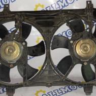 Nissan Almera Tino, вентилятор радиатора