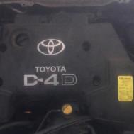 Toyota Corolla Verso 2002 год, v-2.0 diesel (D4-D), двигатель голый