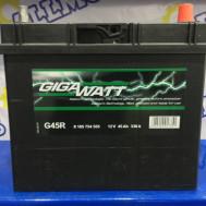 Аккумулятор GigaWatt G45R (45 Ah)