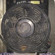 Opel Zafira A, вентилятор радиатора кондиционера
