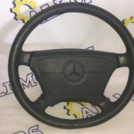 Mercedes-Benz W140 1996 года, руль с подушкой безопасности