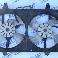 Nissan Almera 2000 год, вентилятор охлаждения радиатора