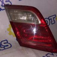Toyota Camry XV40 (рестайлинг), фонарь крышки багажника левый