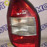 Opel Zafira, стоп сигнал задний левый