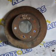 Mazda 626 1999 год, тормозной диск задний