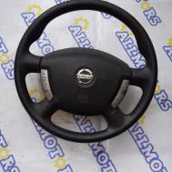 Nissan Primera P12 2005 год, руль с подушкой безопасности