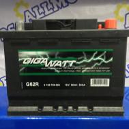 Аккумулятор GigaWatt G62R (60 Ah)